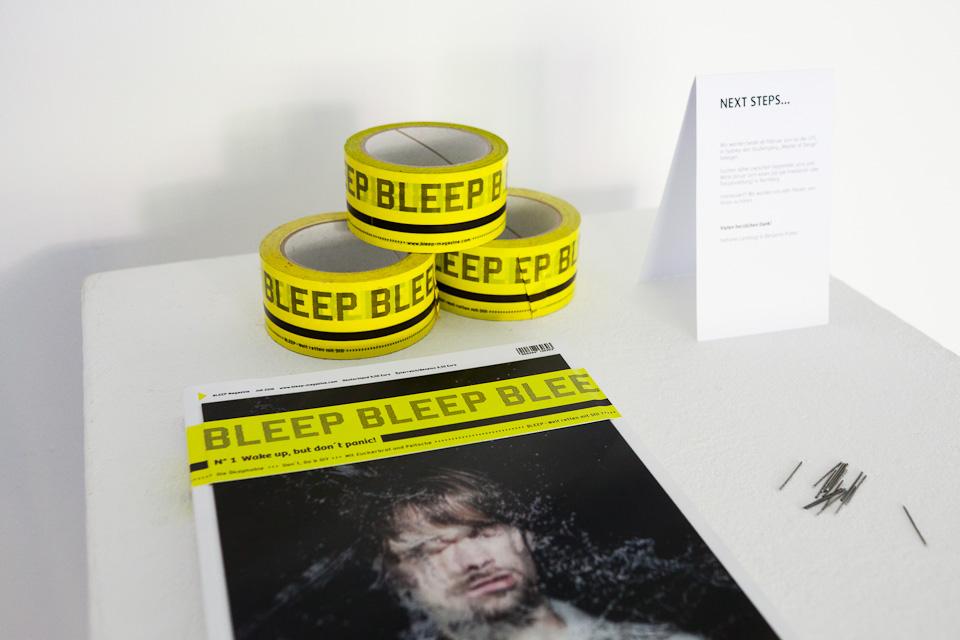 Diplomarbeit Stefanie Landvogt und Benjamin Probst - Bleep Magazine