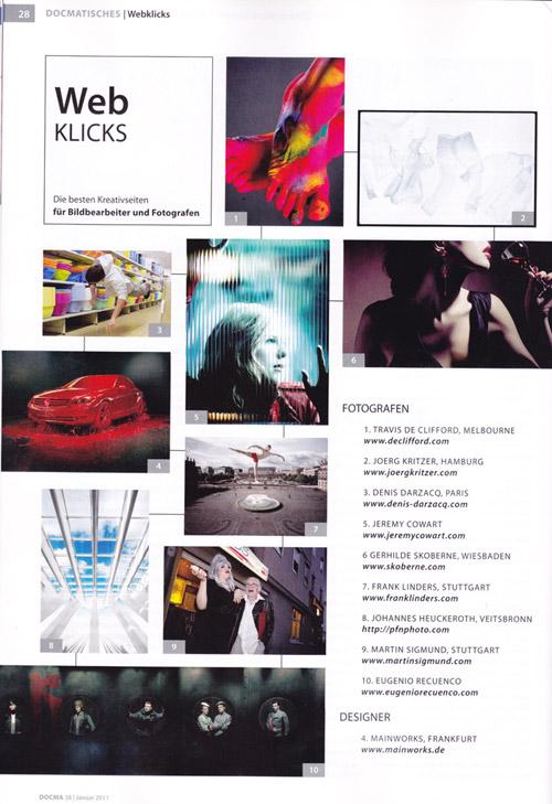 Johannes Heuckeroth im DOCMA-Magazin
