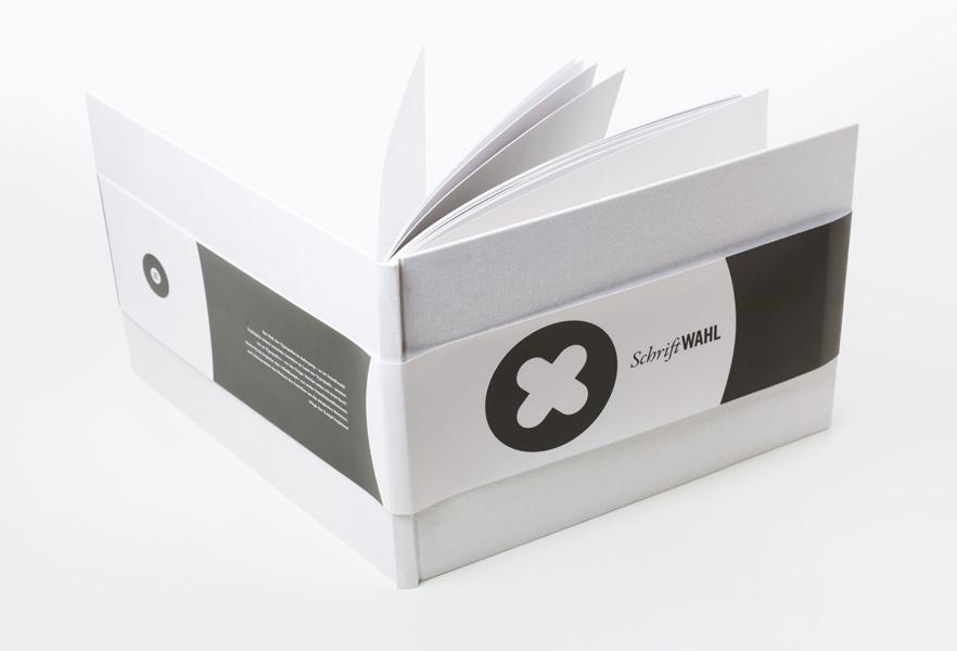 Grafikdesign Buchprojekt Schriftwahl