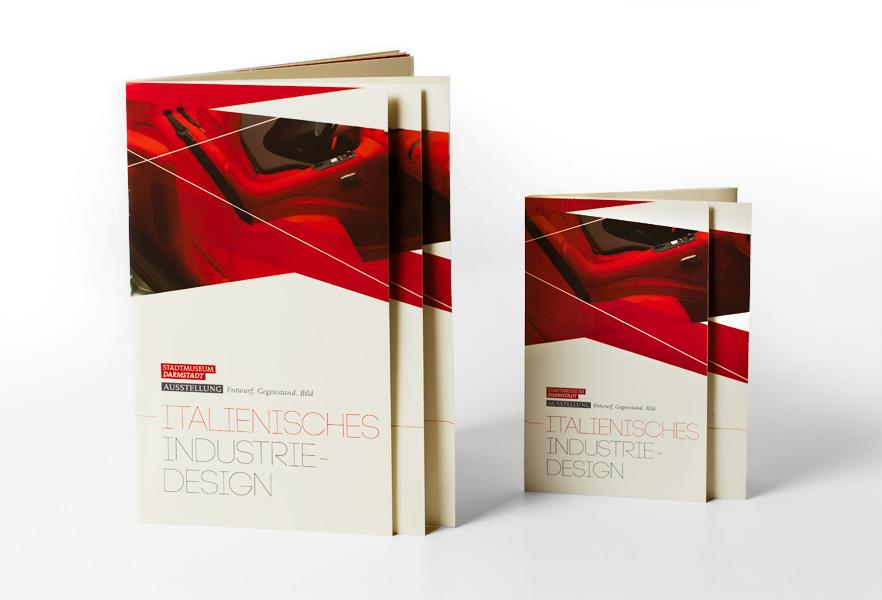 Typografie: italienisches Industriedesign